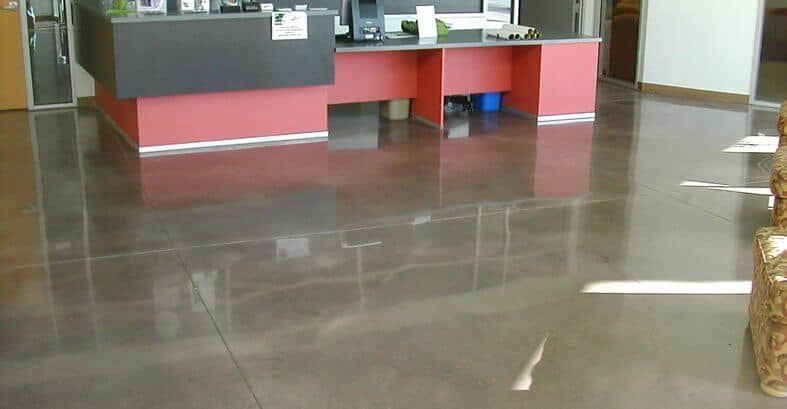Polished Concrete Floors Project by SBS Contracting