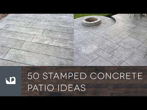 50 Stamped Concrete Patio Ideas