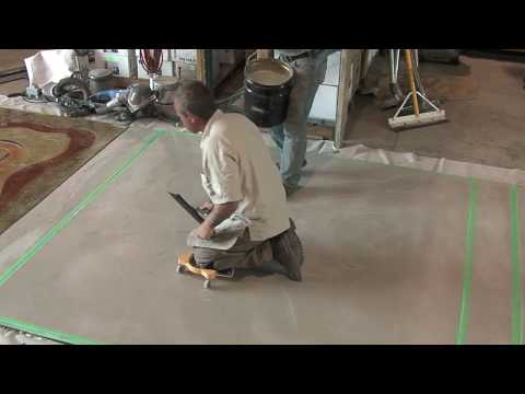 Concrete Overlays - Microtopping Application