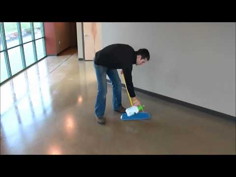 Concrete Floor Maintenance - Stained Concrete - Dancer