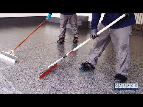 Garage Floor Coating Application Process - Concrete Floor Pros