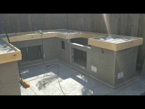 How to make pour in place Concrete countertops on my bbq island #5 - Concrete Floor Pros