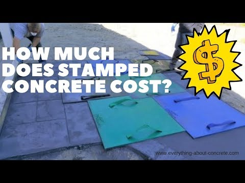 How Much Does Stamped Concrete Cost?