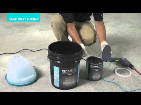 ROKREZ PRO - Epoxy Floor HOW TO