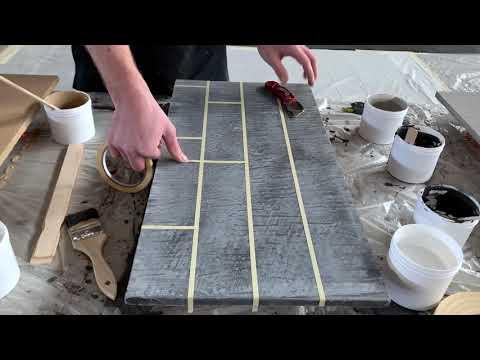 Concrete Overlay Sample Board | Leggari Products