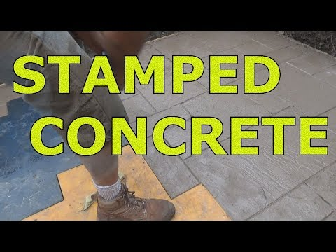 STAMPED CONCRETE  (YES or NO?) (Part 1 of 2) Mike Haduck - Concrete Floor Pros