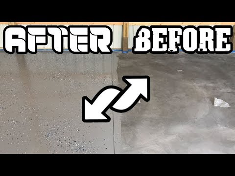 The Cheapest and Fastest Way to Epoxy a Garage Floor! (Must See!) - Concrete Floor Pros