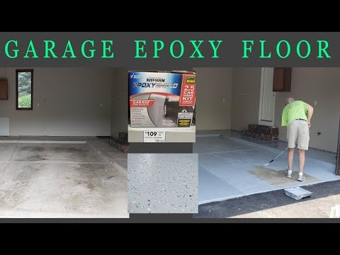 Garage Epoxy Floor - Rust-Oleum EpoxyShield