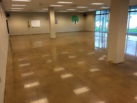 Polishing and staining  concrete properly, Concrete Floor Solutions, Inc. - Concrete Floor Pros