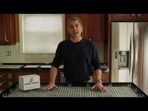 Z Counterform - How To Build Concrete Countertops Full Instructional Video - Concrete Floor Pros