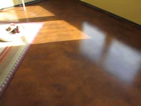 Amazingly cheap and stunningly beautiful floors - Easy DIY Stained Concrete - Concrete Floor Pros