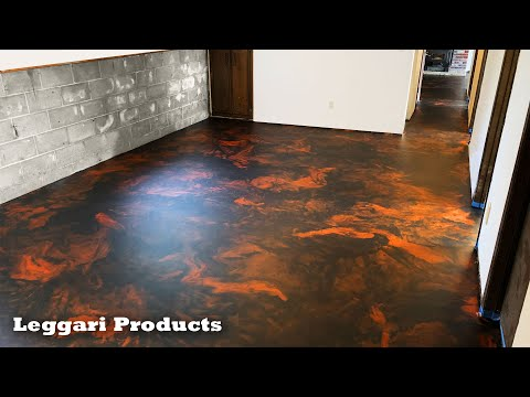 Epoxy Floor Installation Over Old Concrete