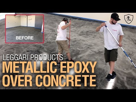 Step by Step Epoxy Flooring   Watch This Garage Makeover
