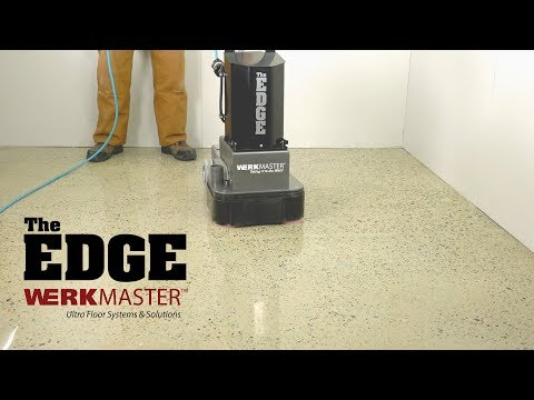 DIY - The Edge by WerkMaster - How To Polish Concrete : Concrete Edger - Polished Concrete