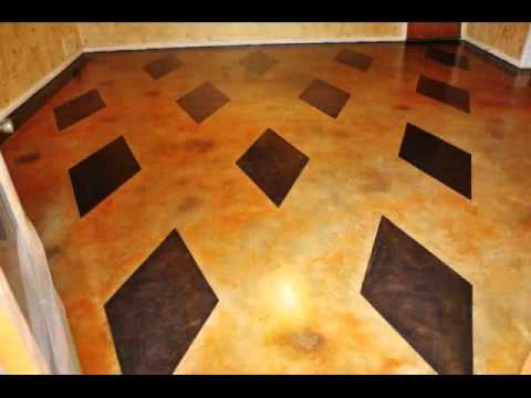 Stained Concrete Floor Gallery Odessa Texas