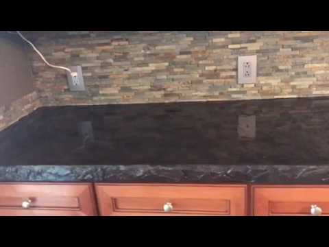 Concrete overlays for existing countertops