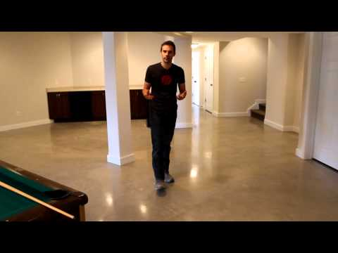 Polished Concrete Floors in Residential Spaces