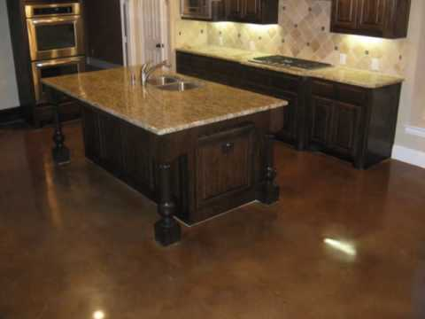 Stained Concrete Floors (Remodels)  Floor Rescue