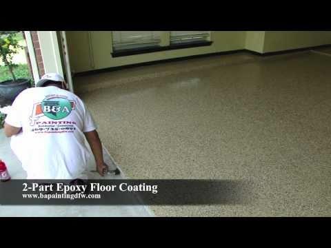 Epoxy Floor Coating | Epoxy Clear Coat | Epoxy Garage Floor | Dallas FT. Worth TX - Concrete Floor Pros