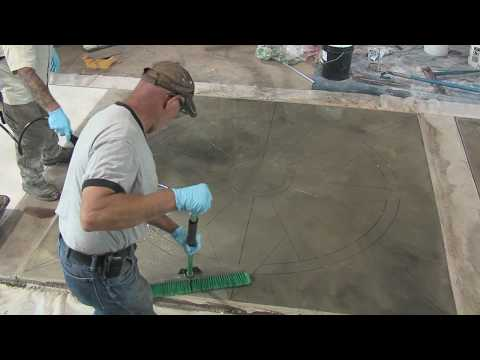 How to Stain Concrete - Tips and Tricks to Acid Staining