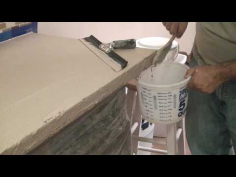 concrete overlay for countertops