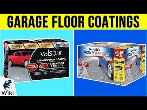 10 Best Garage Floor Coatings 2019