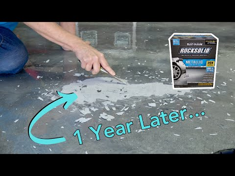 RockSolid Garage Coating: 1 Year Later // Part 3