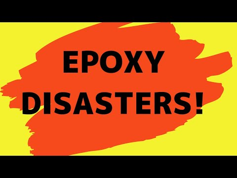 Epoxy Flooring Disasters that could happen to you! - Learn about our top 10 incidents