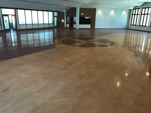 Concrete Polishing and Staining, Concrete Floor Solutions, Inc.