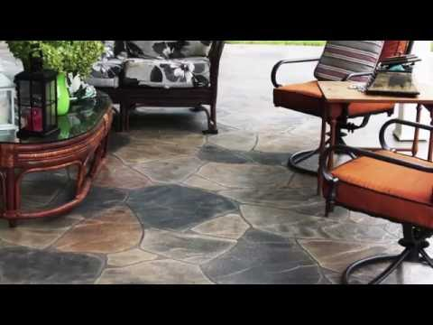 Resurfaced Concrete Overlay | Concrete that Looks Like Stone | Concrete Craft