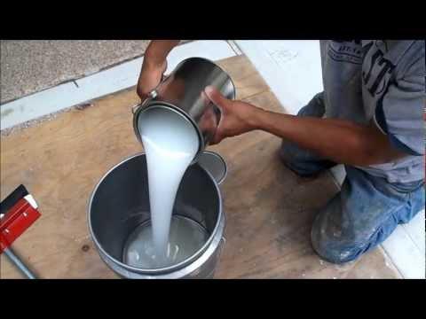100% Solids Epoxy liquid Granite Garage Floor Coatings