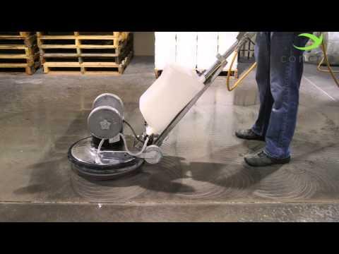 Concria Training- transform your swing machine into a concrete polishing device