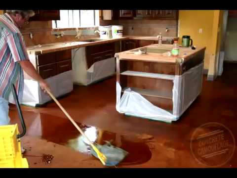 Concrete Staining Guide - 1. Important Things to Know about Acid Staining Concrete Floors & Exterior - Concrete Floor Pros