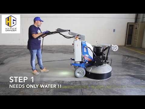 How to polish concrete floors in 3 steps - [fast video] - Concrete Floor Pros