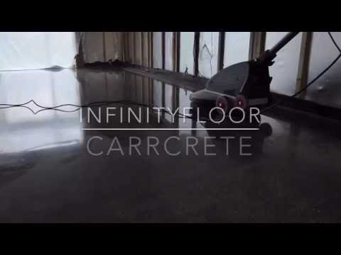 How To Polish Concrete Floors - CARRcrete InfinityFloor
