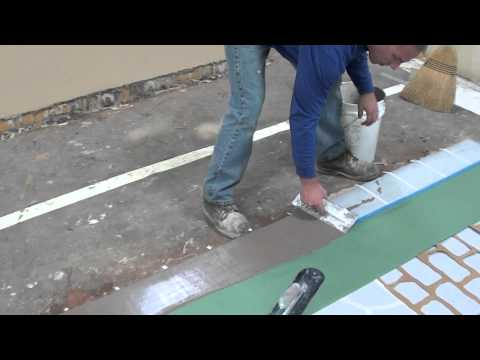 How to use a Spray Mix, micro-topping overlay for resurfacing decorative concrete