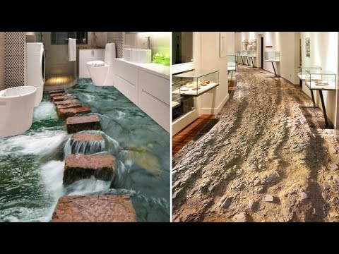 Top 100 3D epoxy floors for 2020 home interiors