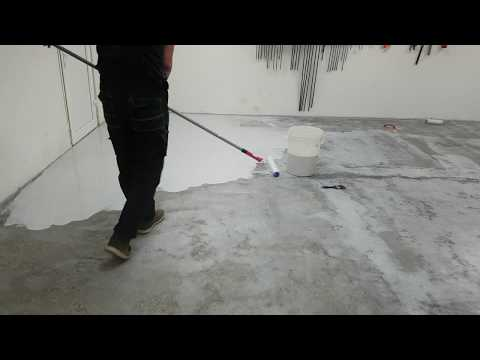 Making new Epoxy Floor for Garage Shop - DIY