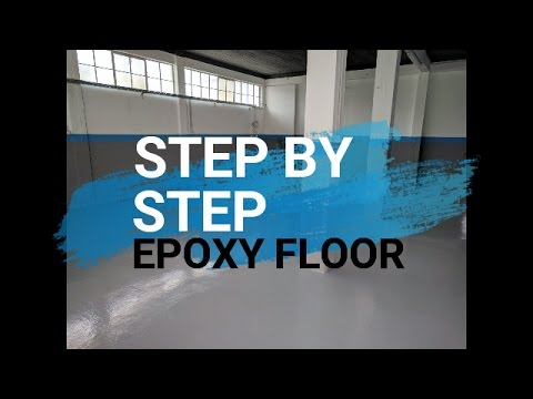 Step by step Epoxy Floor [Case Study]: How to apply from start to finish (2018) - Concrete Floor Pros