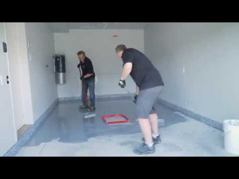 DIY Garage Floor Epoxy Tutorial
